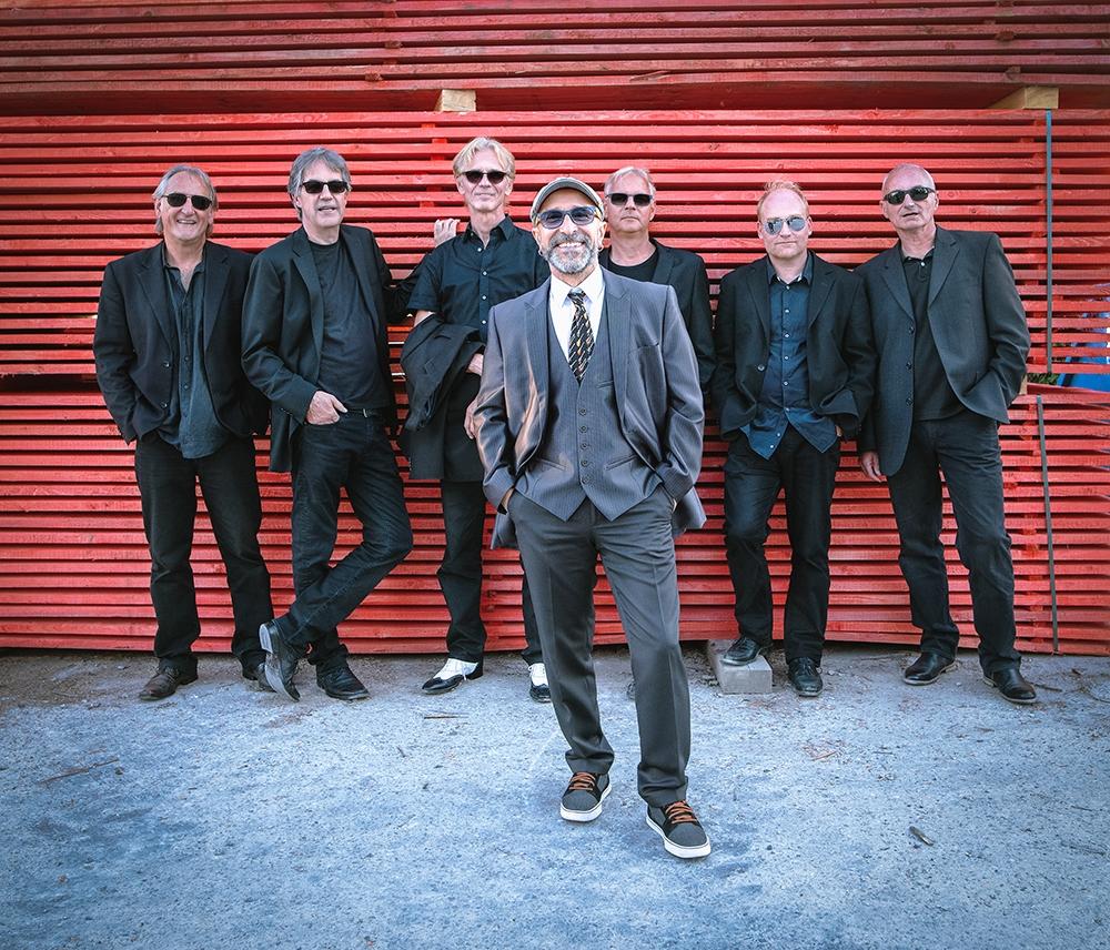 Pressefoto der Blues-Band BACK TO BLUES