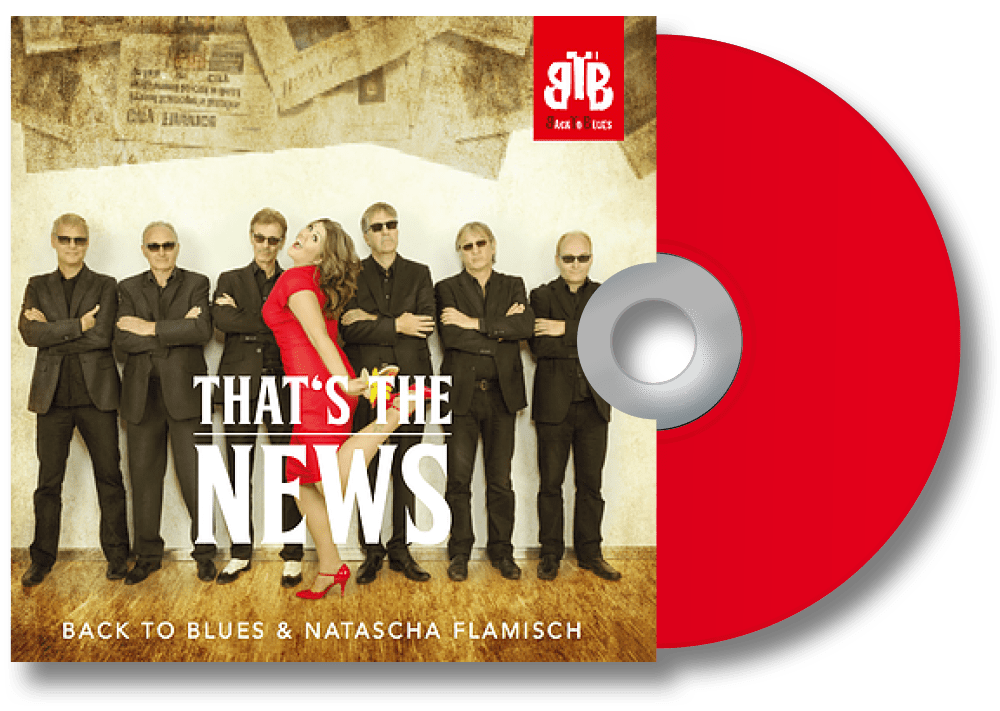 "Studio-CD ""That's the News"" der Blues-Band BACK TO BLUES"